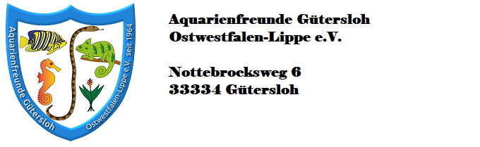 Aquarienfreunde Gütersloh e.V.